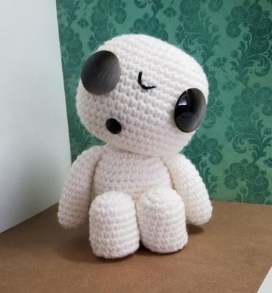 kodama inspired crochet pattern princess mononoke