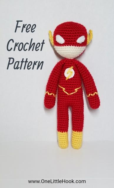 the flash inspired crochet pattern