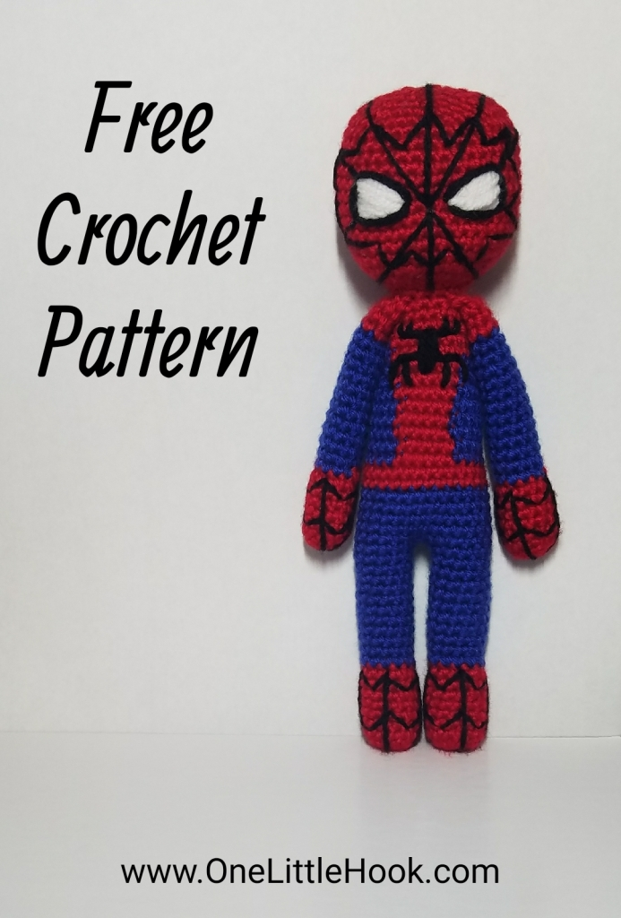 spiderman crochet pattern