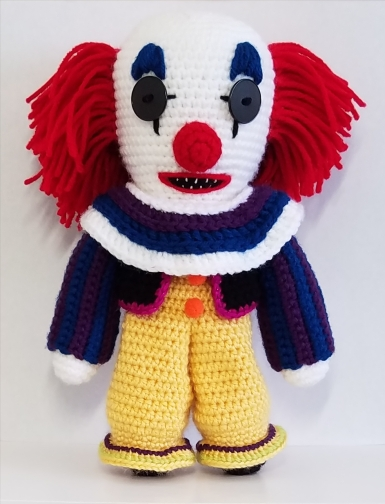 original pennywise crochet pattern