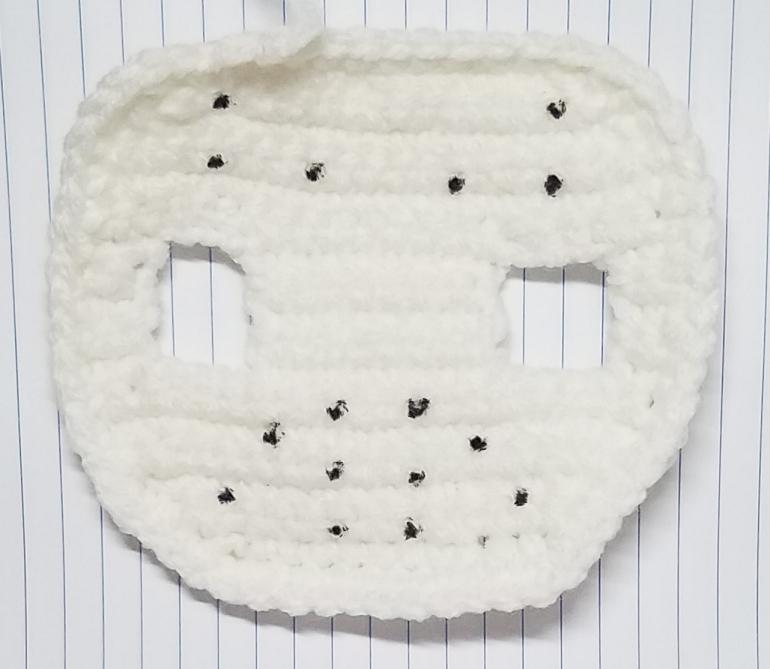 Jason Voorhees Crochet Pattern