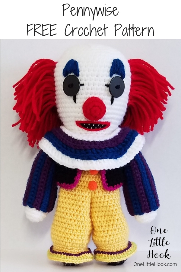 pennywise crochet pattern