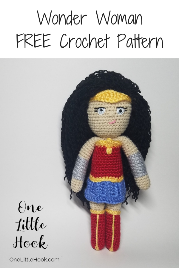 wonder woman crochet pattern